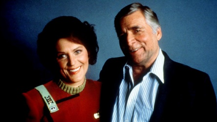 Gene Roddenberry with wife Majel