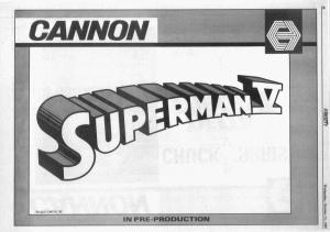 Superman V - Variety Ad